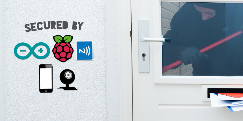 build your own diy home security system with raspberry pi litele. Black Bedroom Furniture Sets. Home Design Ideas